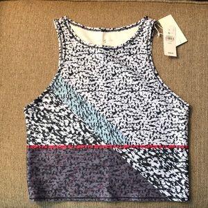 NWT Lou & Grey Activewear crop top